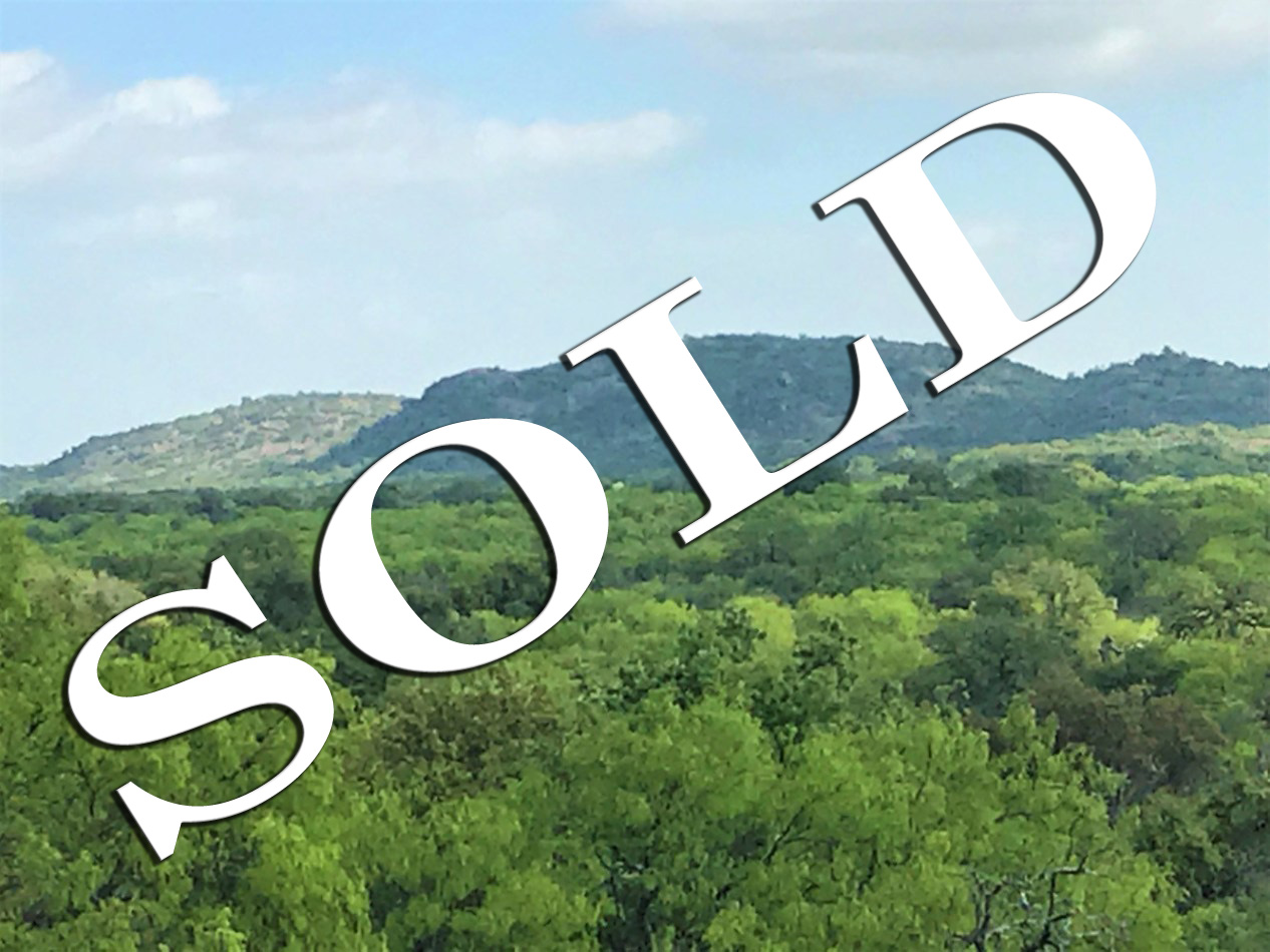 llano county road sold property Kruse Ranches